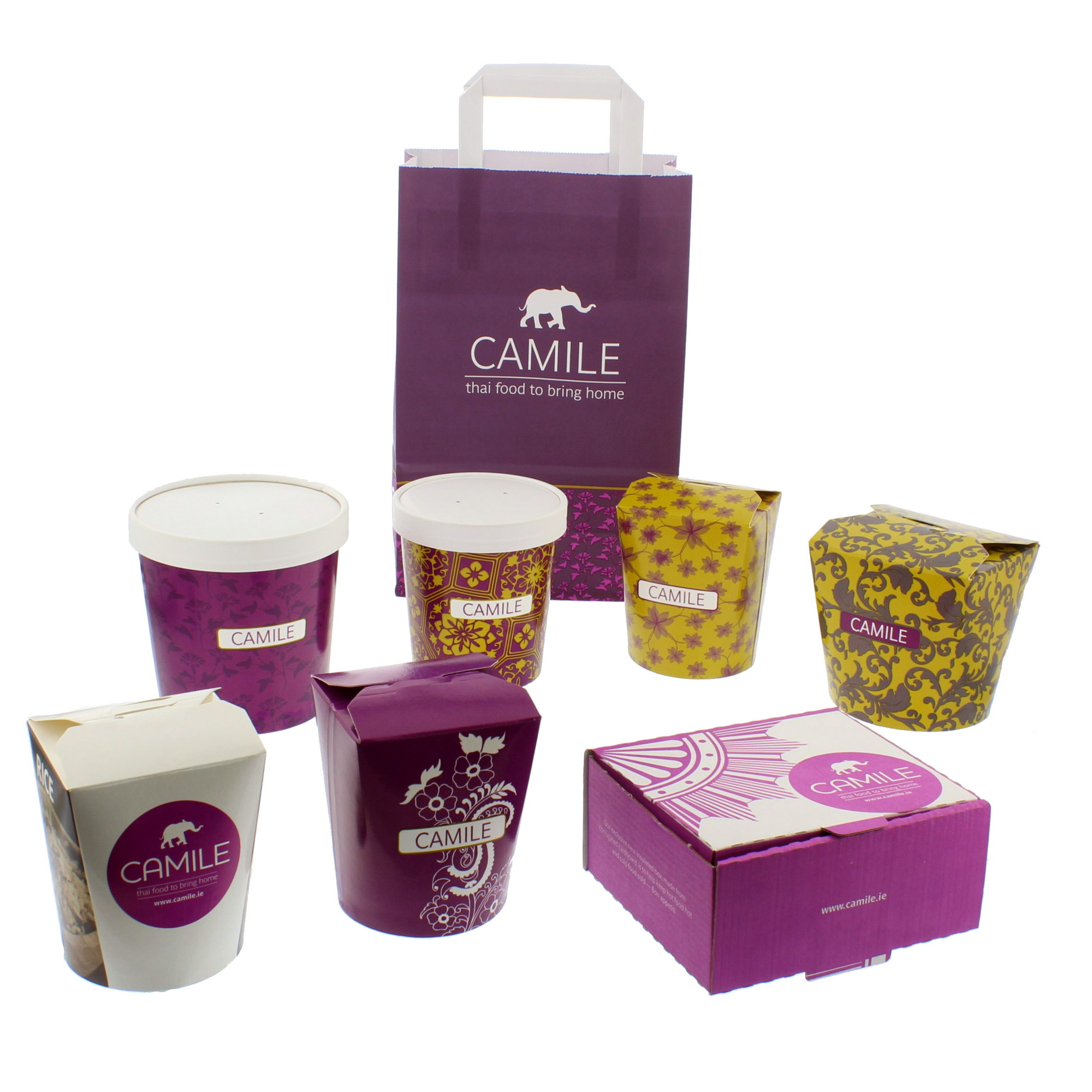 Camile Thai Packaging Collection