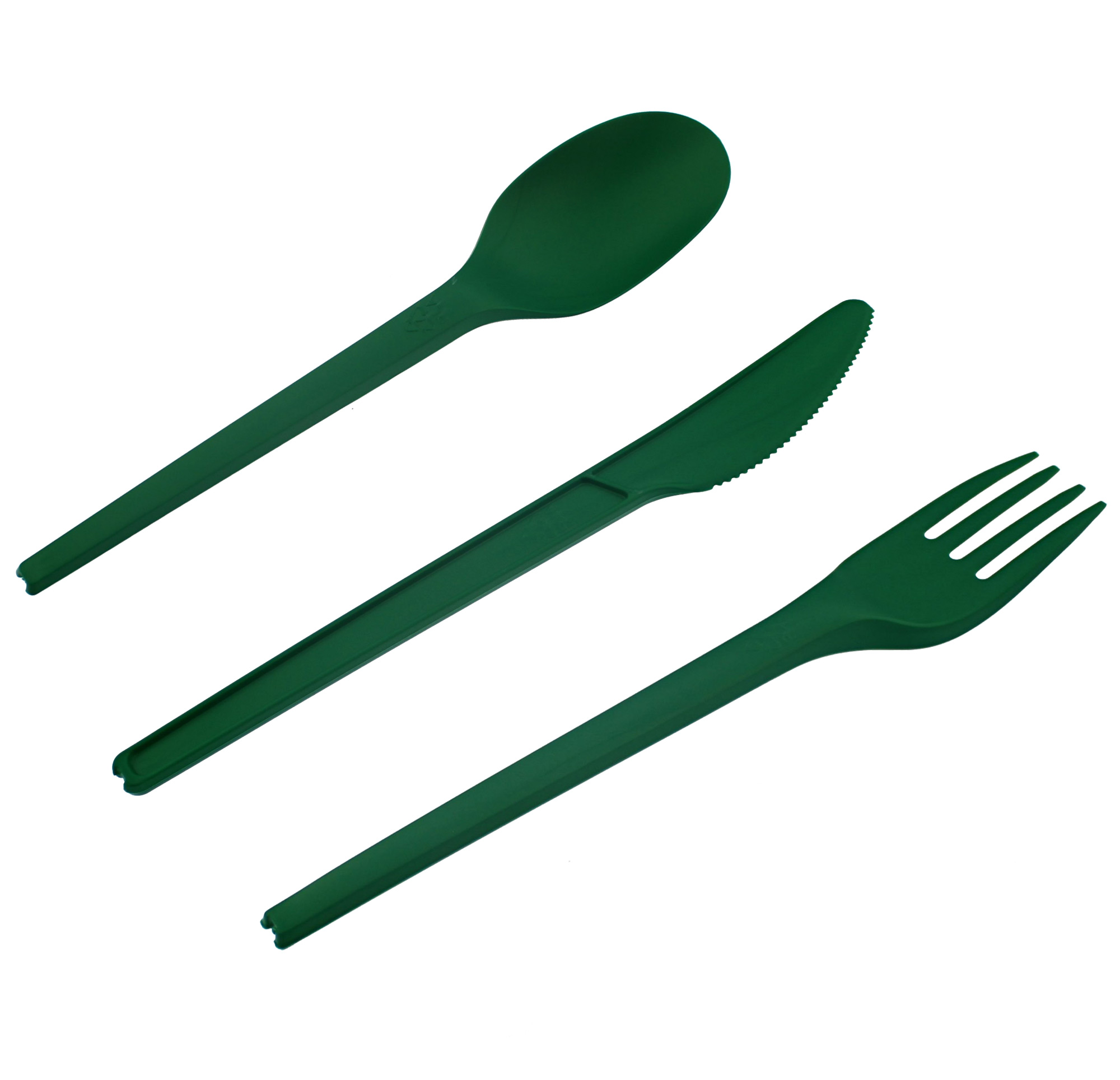 Freshii Green Compostable Cutlery