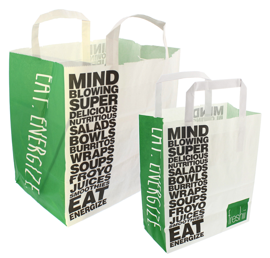 Freshii Small and Large 70gsm Bags