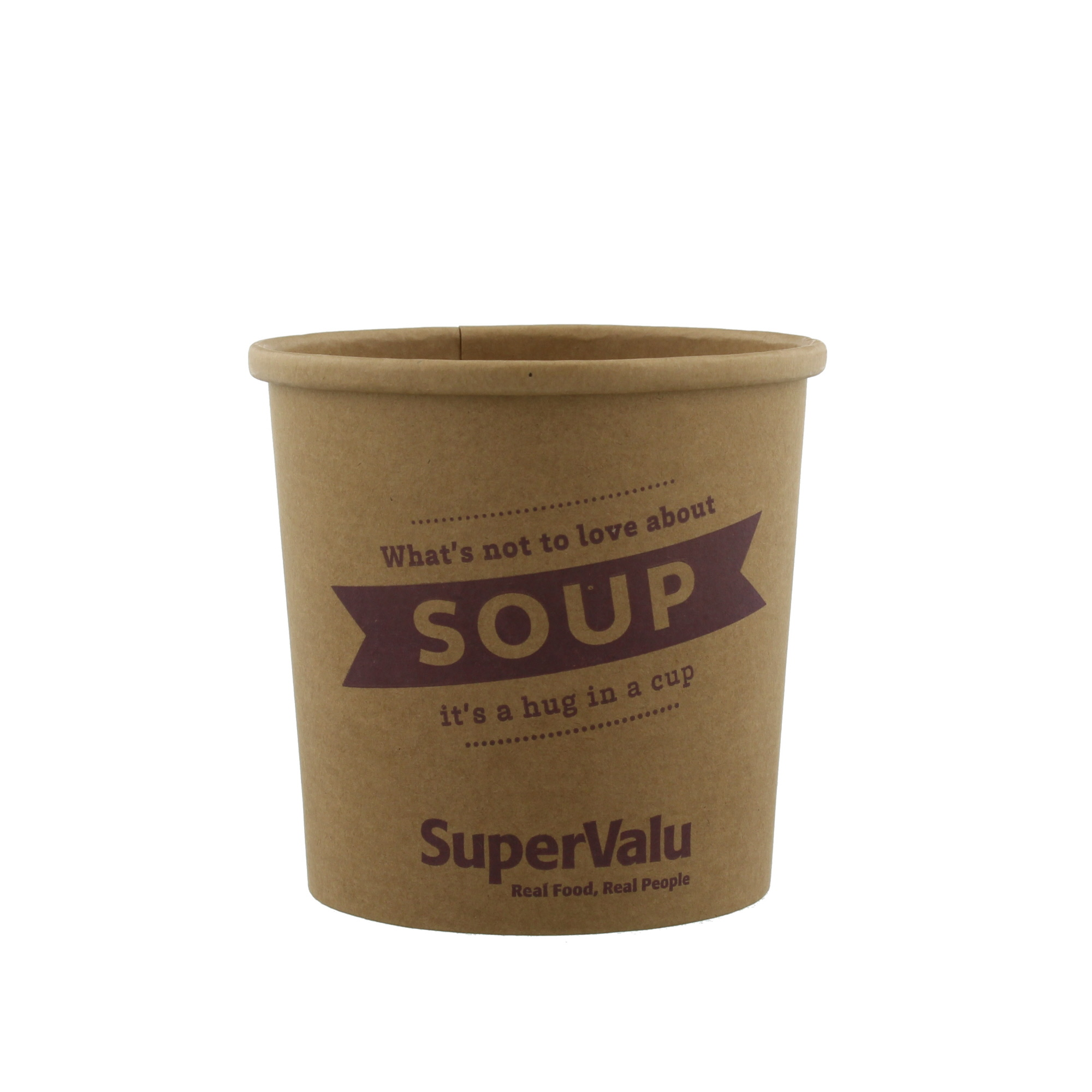 SuperValu 12oz Soup Container