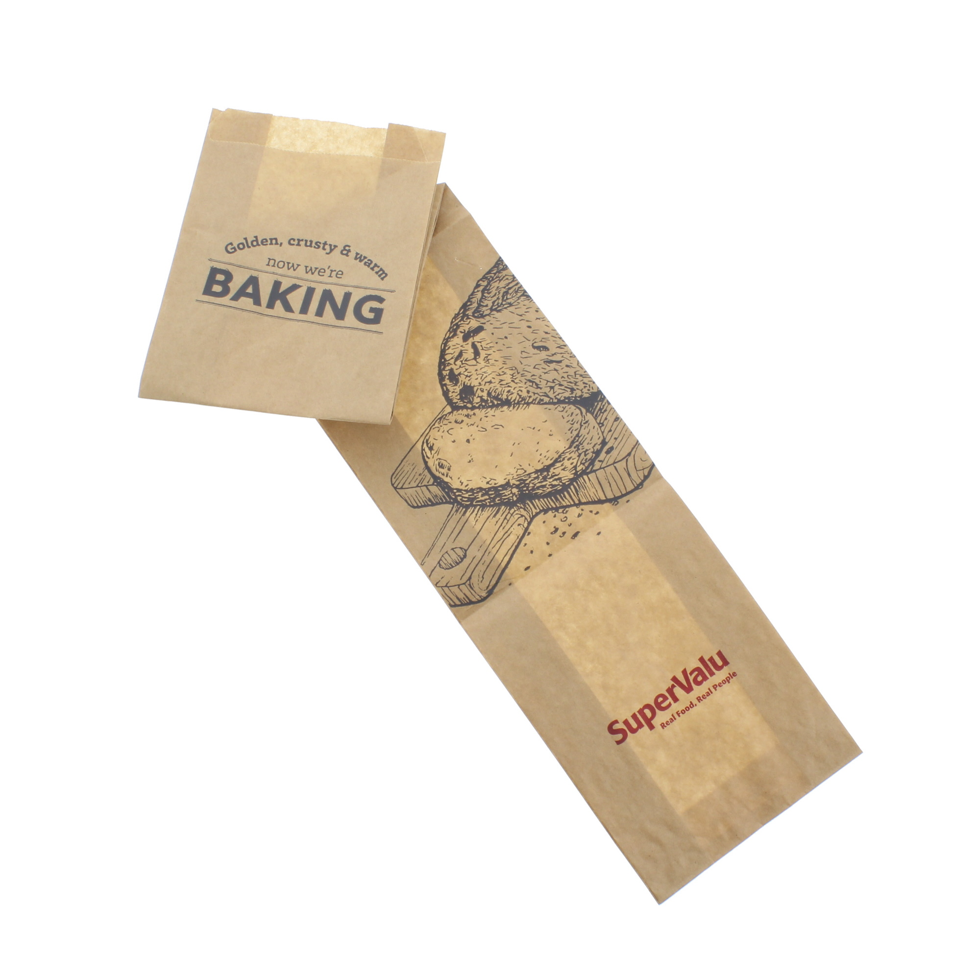 SuperValu Paper French Stick Bag