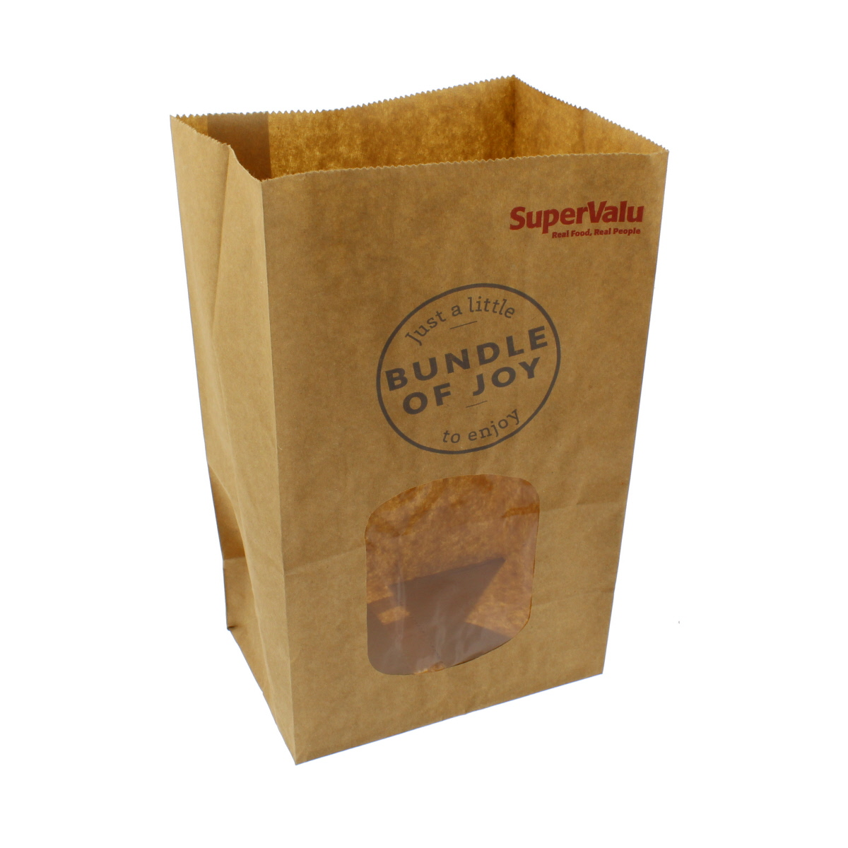 SuperValu Treat Bag Brown Kraft