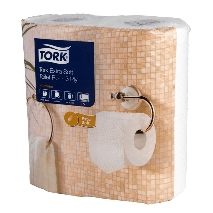 Tork Soft Toilet Roll Conventional T4 Premium