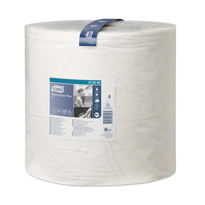 Tork Papier do wycierania Plus Roll W1 2Ply 37Cm X 510M