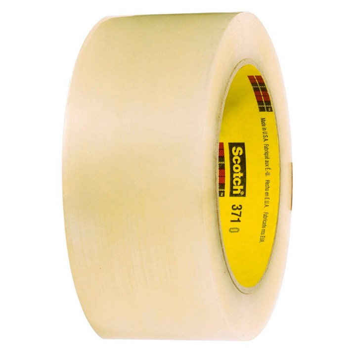 Brown 3M Scotch 371 Hotmelt Polypropylene Tape