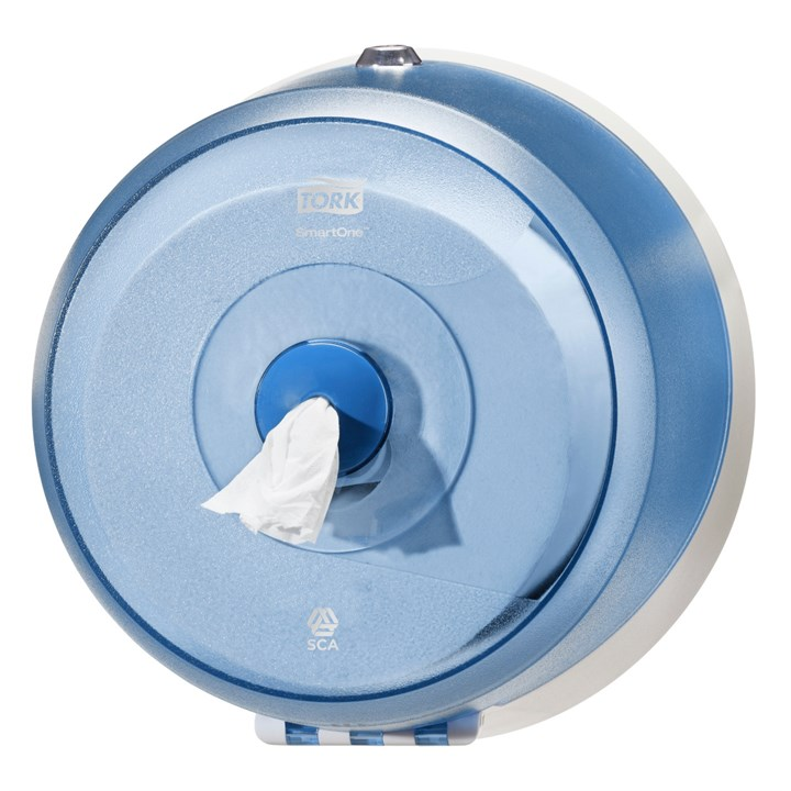 Tork Smartone Mini Toilet Roll Dispenser T9 Wave Plastic