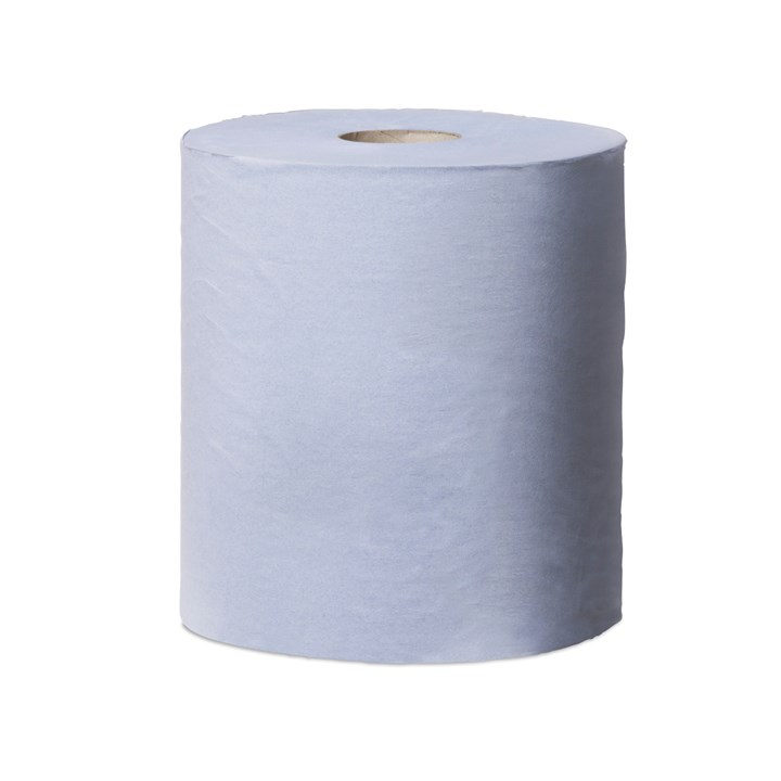 Tork Reflex Wiping Paper Centrefeed Roll M4 Blue 1Ply 19Cm X 270M