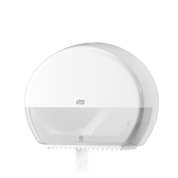 Tork Mini Jumbo Toilet Roll Dispenser T2 Elevation Plastic