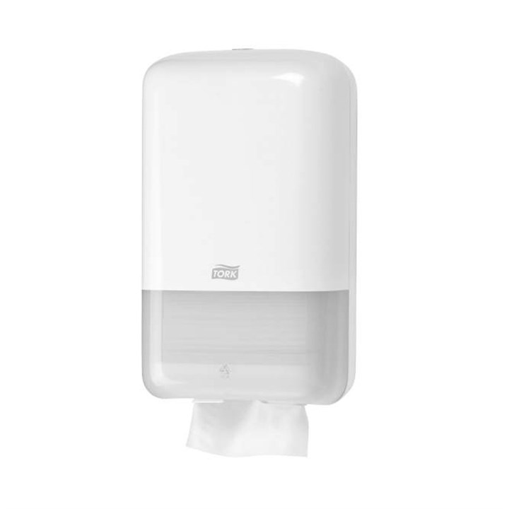 Tork Folded Toilet Paper Dispenser T3 Elevation Plastic