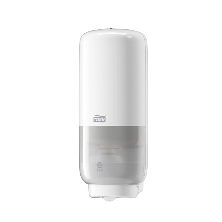 Tork Foam Soap Dispenser With Intuition Sensor S4 Elevation White Plastic