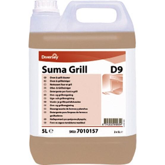 Suma Grill D9 Oven & Grill Cleaner 5 Litre