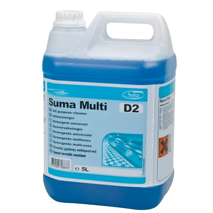 Suma Multi D2 Concentrated All Purpose Detergent