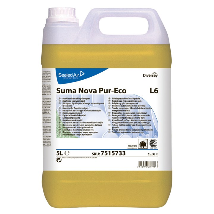 Suma Nova Pur-Eco L6 Dishwashing Detergent For All Water Types
