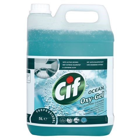 Cif Oxy-Gel Ocean Fresh All Purpose Cleaner 5 Litre