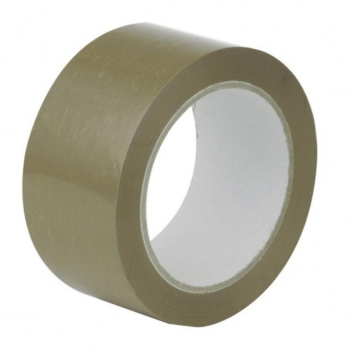 Brown Hotmelt Polypropylene Tape 48Mm X 132M Roll