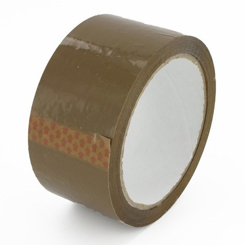 Brown Solvent Polypropylene Tape
