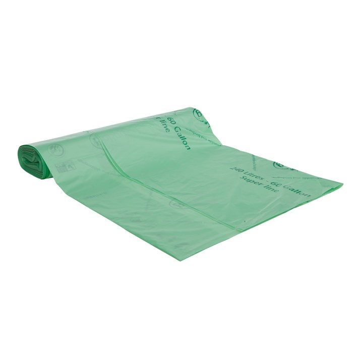 Biobag Biodegradable Refuse Sacks 240L