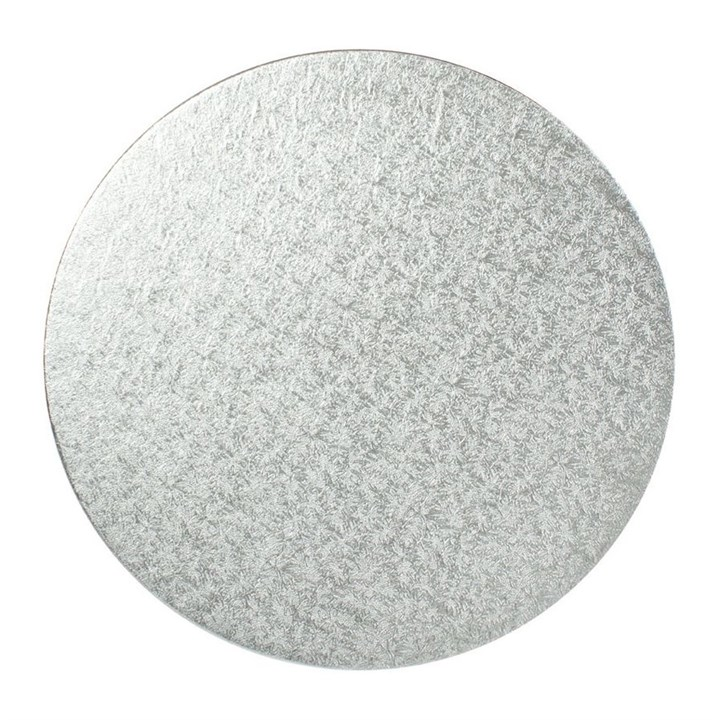 9 Inch Silver Round Cake Cards