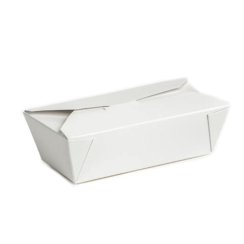 ENVASE TAKEAWAY 185 X 90 X 55MM BLANCO