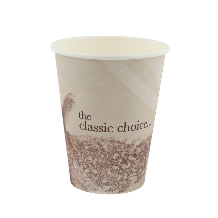 8Oz Classic Lager Design Single Wall Cup