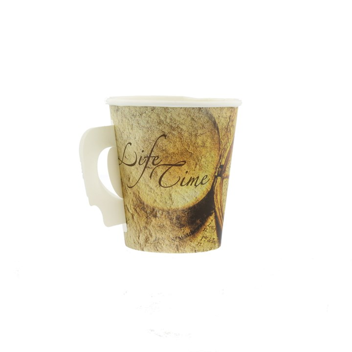 7Oz Hot Drink Cup With Handle
