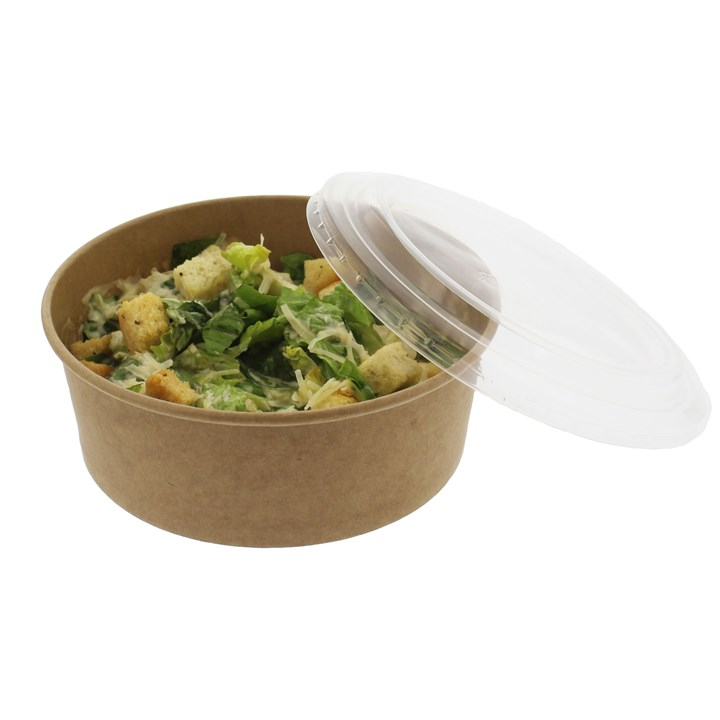 Leaf Vented Plastic Lid For 1300ml Bowl