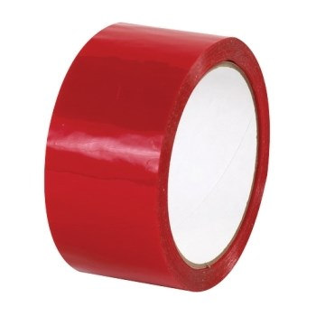 Rotes Acryl Polypropylen-Band 48Mm X 66M Rolle