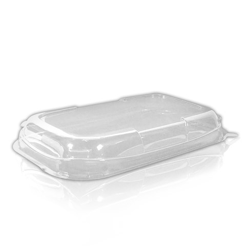Snackipack Black Base Clear Lids For Cold Use 192 X 145 X 20mm