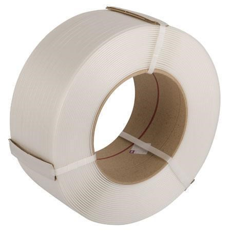 White Polypropylene Machine Strapping