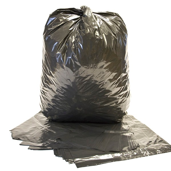 Black Refuse Sacks 457 X725 X 975Mm