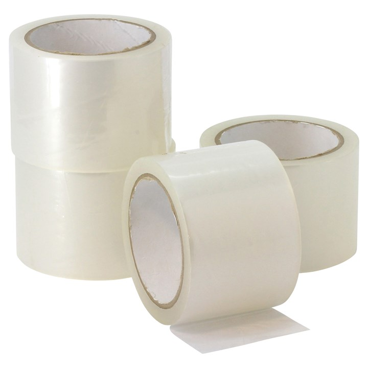 Clear Acrylic Polypropylene Tape