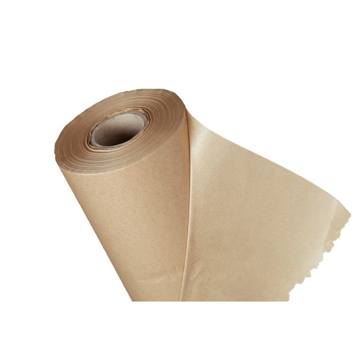 Ribbed Pure Kraft Paper Roll