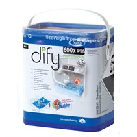 Suma Dify Manually Dosed Machine Dishwash Soluble Sachet 40 Tabs 600 Washes