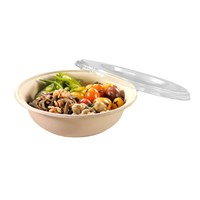 Naturesse Clear Pla Lid For 600/900Ml Bowl