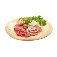 Naturesse Palm Leaf Round Plate