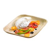 Naturesse Palm Leaf Compostable Disposable Square Plate