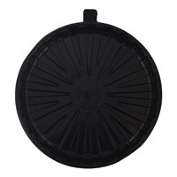 "20DX30 8"" ROUND BLACK BASE 02B078 (LID TO MATCH = 20DX03 )"