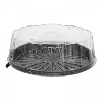 "9"" CLEAR DOME LID 02B0236"