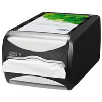 Tork Xpressnap Counter Napkin Dispenser N4 Black 29 X 15 X 15Cm