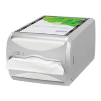 Tork Xpressnap Counter Napkin Dispenser N4 Grey 29 X 15 X 15Cm