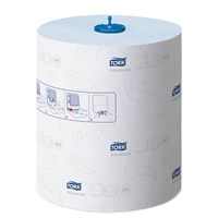 Tork Matic Blue Hand Towel Roll H1 Advanced Blue 21Cm X 150M