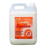 Carefree Emulsion Medium Gloss Floor Polish 5 Litre