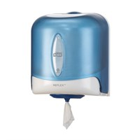 Tork Reflex Single Sheet Centrefeed Dispenser M4 Blue Plastic