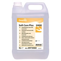 Soft Care Plus H400 Unperfumed Hand Washing Cream With Bactericide 5 Litre