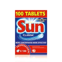 Sun Tablets Mechanical Ware Wash Detergent 10G Each
