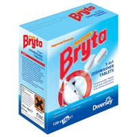 Bryta 5 In 1 Dishwasher Tablets 120 Tabs