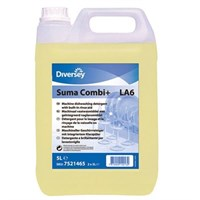 Suma Combi+ La6 2 In 1 Detergent And Rinse Aid 5 Litre