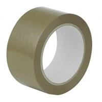 Brown Olympia Plus Hot Melt Tape 38Mm Core 48Mm X 150M Roll