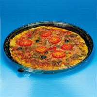 Actipack Black Pizza Bases 180Mm