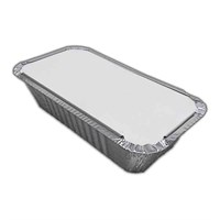 No6A Curry Foil & Lid 4 X 8 Inch